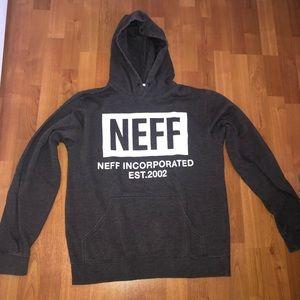 Mens Grey Neff Hoodie